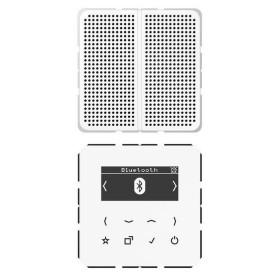 DABLS1BTWW Встраиваемое радио с Bluetooth и динамик Jung программа CD стекло Белое-Белый