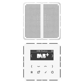 DABCD1WW Встраиваемое радио с динамиком Jung программа CD стекло Белое-Белый
