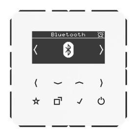 DABCDBTWW Встраиваемое радио с Bluetooth Jung программа CD стекло Белое