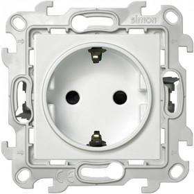 2420432-030 Розетка электрическая со шторками Push&Go Simon 24 Harmonie Белый