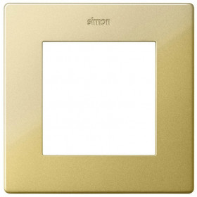 Рамка 1-ая Simon 24 Harmonie Золото 2400610-066