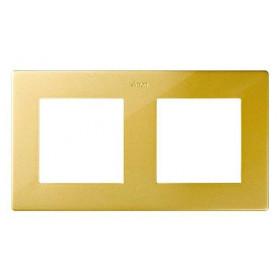 Рамка 2-ая Simon 24 Harmonie Золото 2400620-066