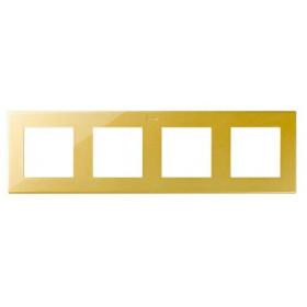 2400640-066 Рамка 4-ая Simon 24 Harmonie Золото
