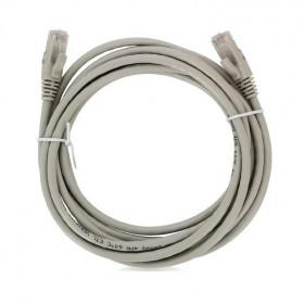 DR-180020 Datarex Патч корд Datarex U/UTP категория Cat 5e PVC 10,0 м Cерый