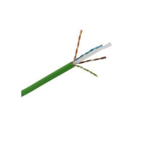 DR-140027 Datarex Кабель витая пара категория Cat 5e 4 пары 24AWG U/UTP PVCLS нг(А)-LSLTx зеленый коробка 305 м