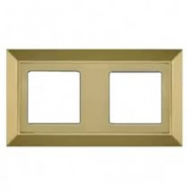 Рамка 2-ая Fede Barselona Bright Gold FD01252OB IP20