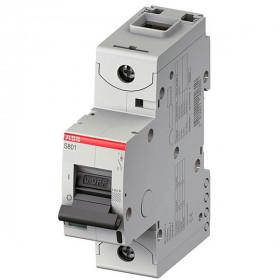 "2CCS861001R0254 Автоматический выключатель 1-полюс 50А хар. ""С""  50кА (ABB S801S) ширина 1.5 модуля"