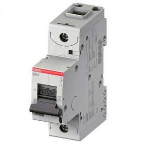 "2CCS861001R0634 Автоматический выключатель 1-полюс 63А хар. ""С""  50кА (ABB S801S) ширина 1.5 модуля"