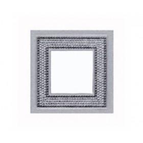 Рамка 1-ая Fede Crystal De Luxe Art Swarovski Bright Chrome FD01291CB IP20