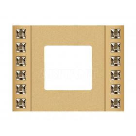 Рамка 1-ая Fede Crystal De Luxe Decor Золото FD01281OR IP20