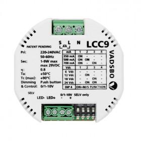 LCC9 LED Драйвер-Диммер 9 Вт, 6,9,12,24V VADSBO V-36009277D-VP