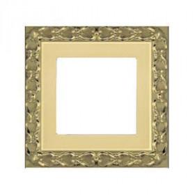 Рамка 1-ая Fede San Sebastian Bright Gold FD01221OB IP20