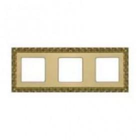 Рамка 3-ая Fede San Sebastian Bright Gold FD01223OB IP20
