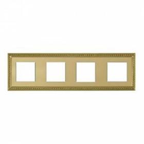 Рамка 4-ая Fede Sevilla Bright Gold FD01234OB IP20