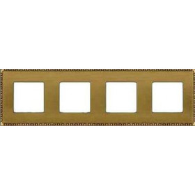 Рамка 4-ая Fede Toledo Bright Patina FD01214PB IP20