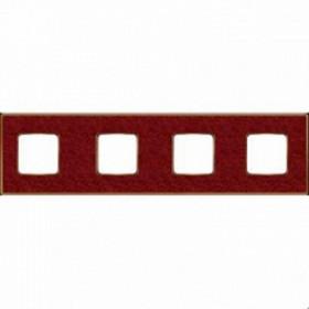 Рамка 4-ая Fede Vintage Corinto Pompei Red/Золото FD01334PROB IP20