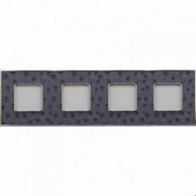 Рамка 4-ая Fede Vintage Tapestry Aliena Silver/Светлый хром FD01324SCB IP20