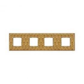 Рамка 4-ая Fede Vintage Tapestry Decor Gold/Светлое золото FD01324DGOB IP20