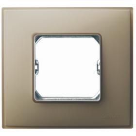 27771-65 Рамка 1-ая серия Simon 27 NEOS, Серый матовый