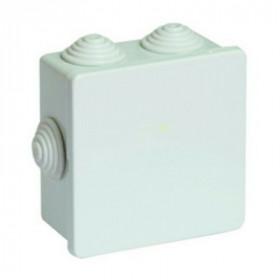 53700 Коробка распределительная IP44 открытого монтажа, 80х80х40мм, СЕРЫЙ