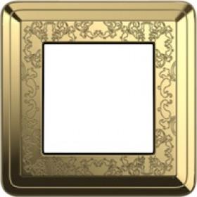 Рамка 1-ая Gira ClassiX Art Латунь 211671 IP20