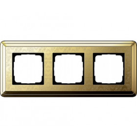 Рамка 3-ая Gira ClassiX Art Латунь 213671 IP20