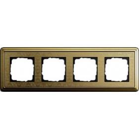 Рамка 4-ая Gira ClassiX Art Бронза 214661 IP20