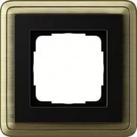 Рамка 1-ая Gira ClassiX Бронза/Черный 211622 IP20