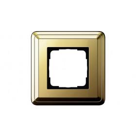 Рамка 1-ая Gira ClassiX Латунь 211631 IP20