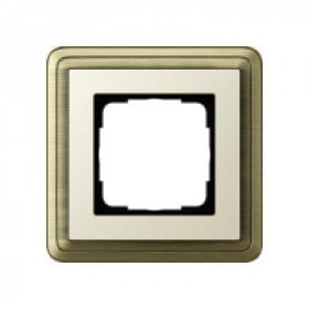 Рамка 1-ая Gira ClassiX Латунь/Кремовый 211633 IP20