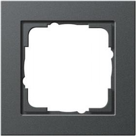Рамка 1-ая Gira E2 Антрацит 21123 IP20