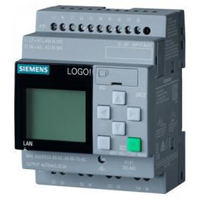 6ED1052-1CC01-0BA8 Логический модуль LOGO!8 Basic 24CE с дисплеем и клавиатурой, 24V DC