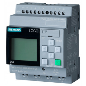 6ED1052-1FB00-0BA8 Логический модуль LOGO!8 Basic 230RCE с дисплеем и клавиатурой, 115/240 V AC/DC