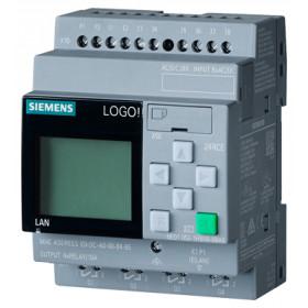 6ED1052-1HB00-0BA8 Логический модуль LOGO!8 Basic 24RCE, с дисплеем и клавиатурой, 24 V AC/DC