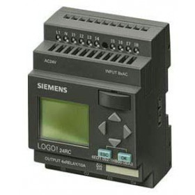 6ED1052-1MD00-0BA6 Логический модуль LOGO! Basic 12/24RC с дисплеем клавиатурой 12/24V DC