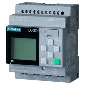6ED1052-1MD00-0BA8 Логический модуль LOGO!8 Basic 12/24RCE с дисплеем и клавиатурой, 12/24 V DC
