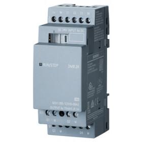 6ED1055-1CB00-0BA2 Модуль расширения LOGO!8 DM8 24 транзисторный 24V DC