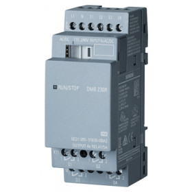 6ED1055-1FB00-0BA2 Модуль расширения LOGO!8 DM8 230R реле 115/240V AC/DC