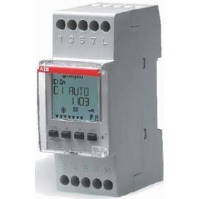 2CSM258763R0621 Реле времени модульное(D1) цифровое недельное 1 канальное с батареей