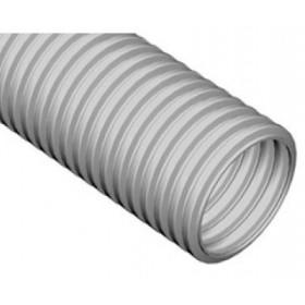 21040HF Труба гофрированная d=40мм тяжелая без галогена без зонда(ЭКОПЛАСТ серия HF) из полиолифенов