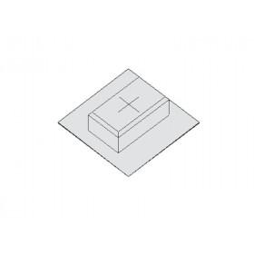 EAA-169 Коробка для заливки под люк E2 (MHK E2-110), высота 110 мм