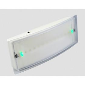 GR-8/leds Аварийный светильник постоянного/непостоянного горения, 12 Leds, 1.5 часа, наклейки