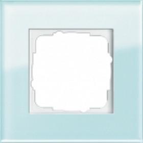 Рамка 1-ая Gira Esprit Стекло салатовое 21118 IP20