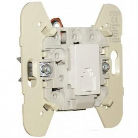 21252 SBR Розетка телефонная RJ11 Efapel Белый