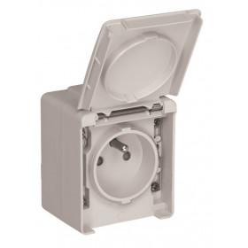 Розетка Efapel 48 Белый 48112 CBR IP65