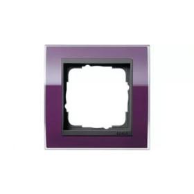 Рамка 1-ая Gira Event Clear Фиолетовый/Антрацит 211758 IP20