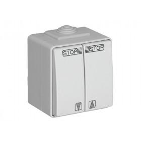 Выключатель Efapel Серый CCZ 48290 IP65 для жалюзи