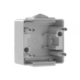 Коробка наружного монтажа 1-ая Efapel 48 Белый 48990 ABR IP65