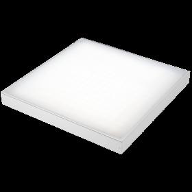 LE-СПО-03-040-0803-20Х Светильник светодиодный ОФИС КОМФОРТ накладной 40Вт, 3000lm/хол.белый, опал