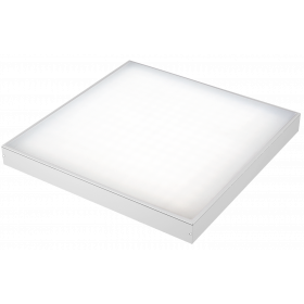 LE-СПО-03-040-0804-20Д Светильник светодиодный ОФИС КОМФОРТ накладной 40Вт, 2900lm/нейт.белый, опал